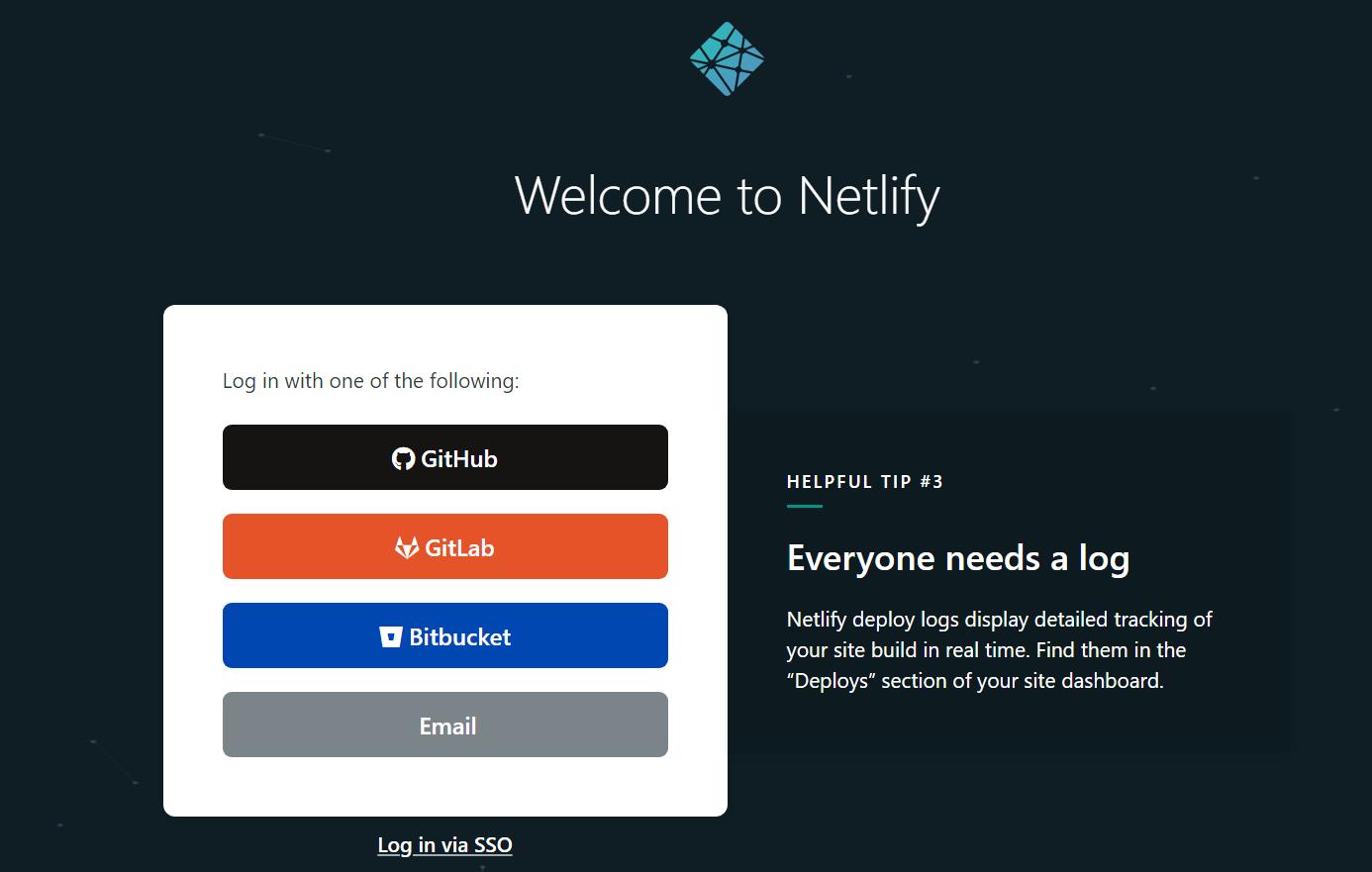 Netlify Make Account