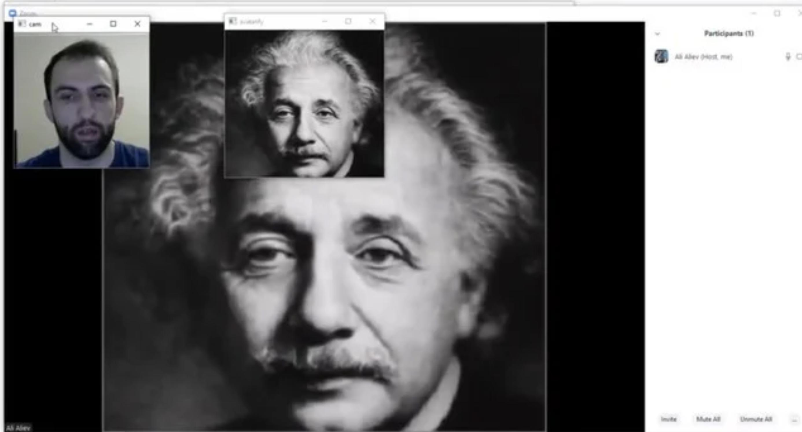 Avatarify 手軽なディープフェイクの作り方 〜画像の顔をフェイストラッキングで操る〜