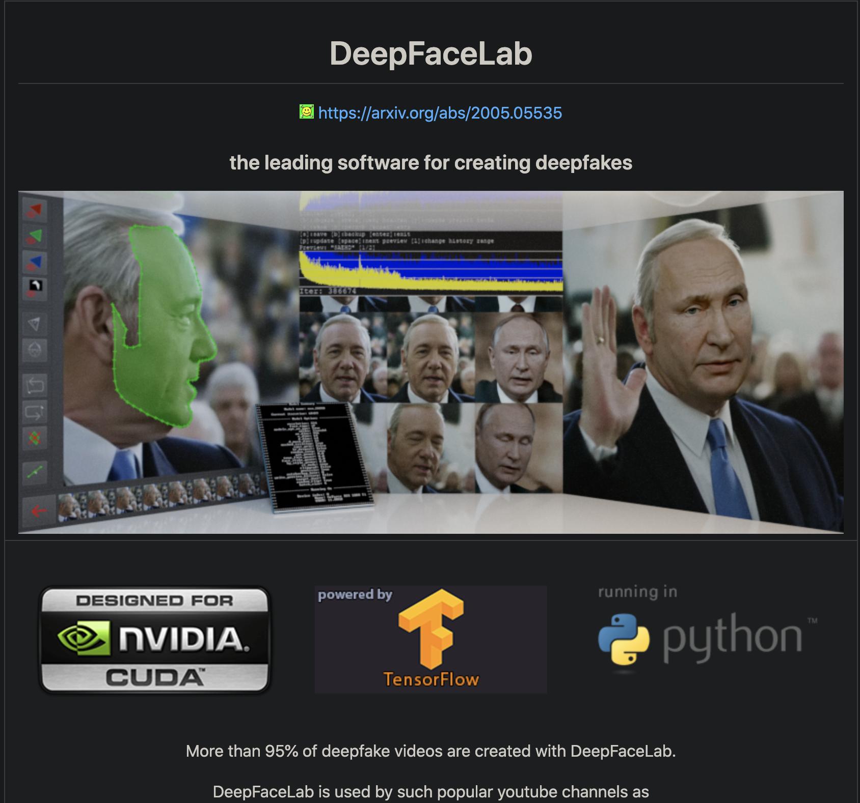 Deepface Lab
