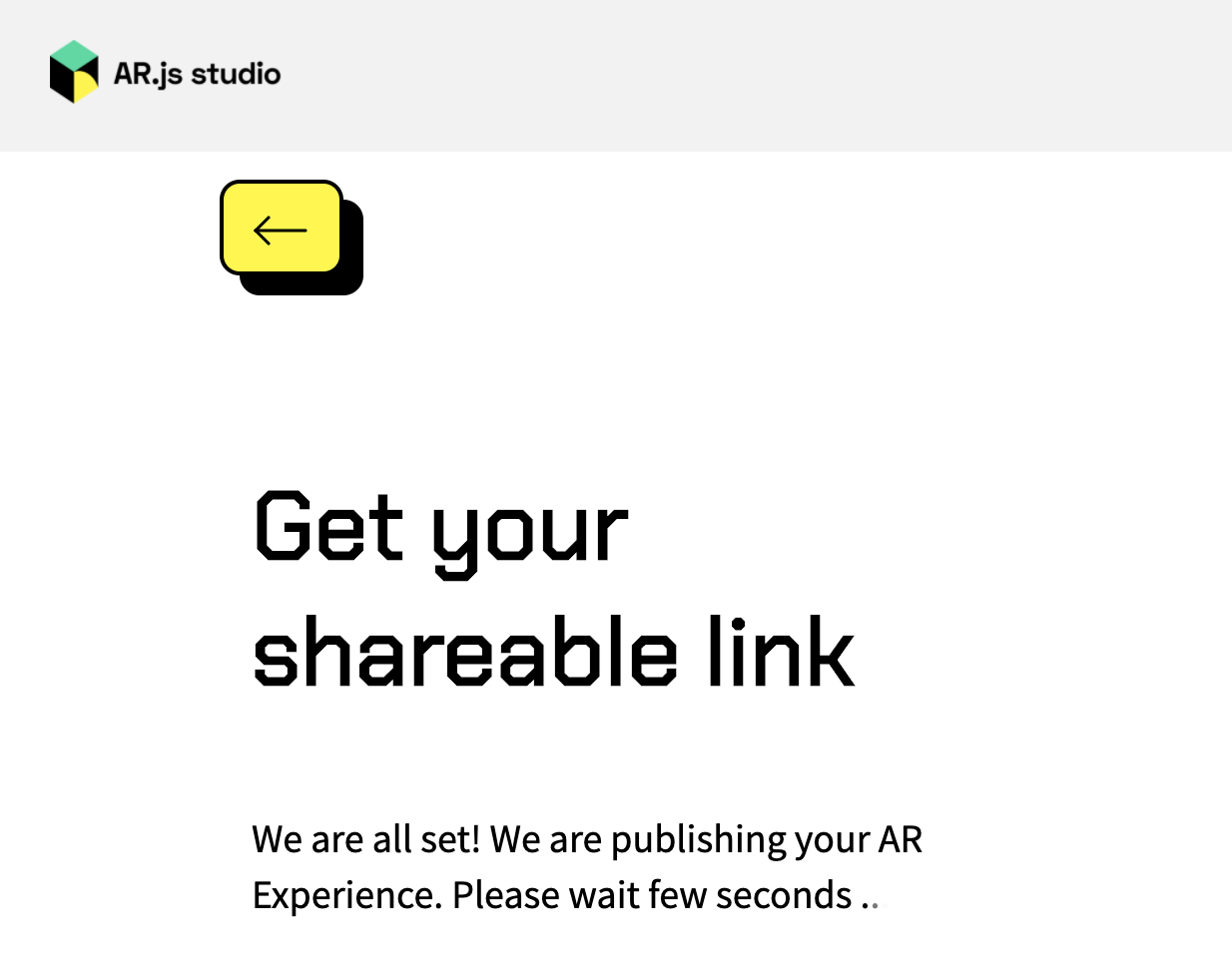 AR js loading