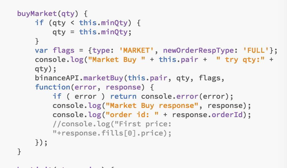 Market buy not working · Issue #269 · jaggedsoft/node