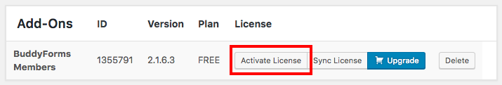 add-on-license-activation