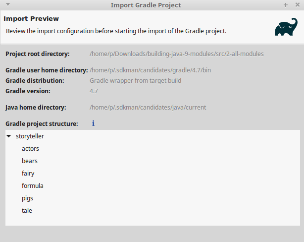 Multi-project, multi-module does not work in Eclipse · Issue