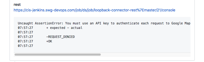 Fix CI · Issue #133 · strongloop/loopback-connector-rest