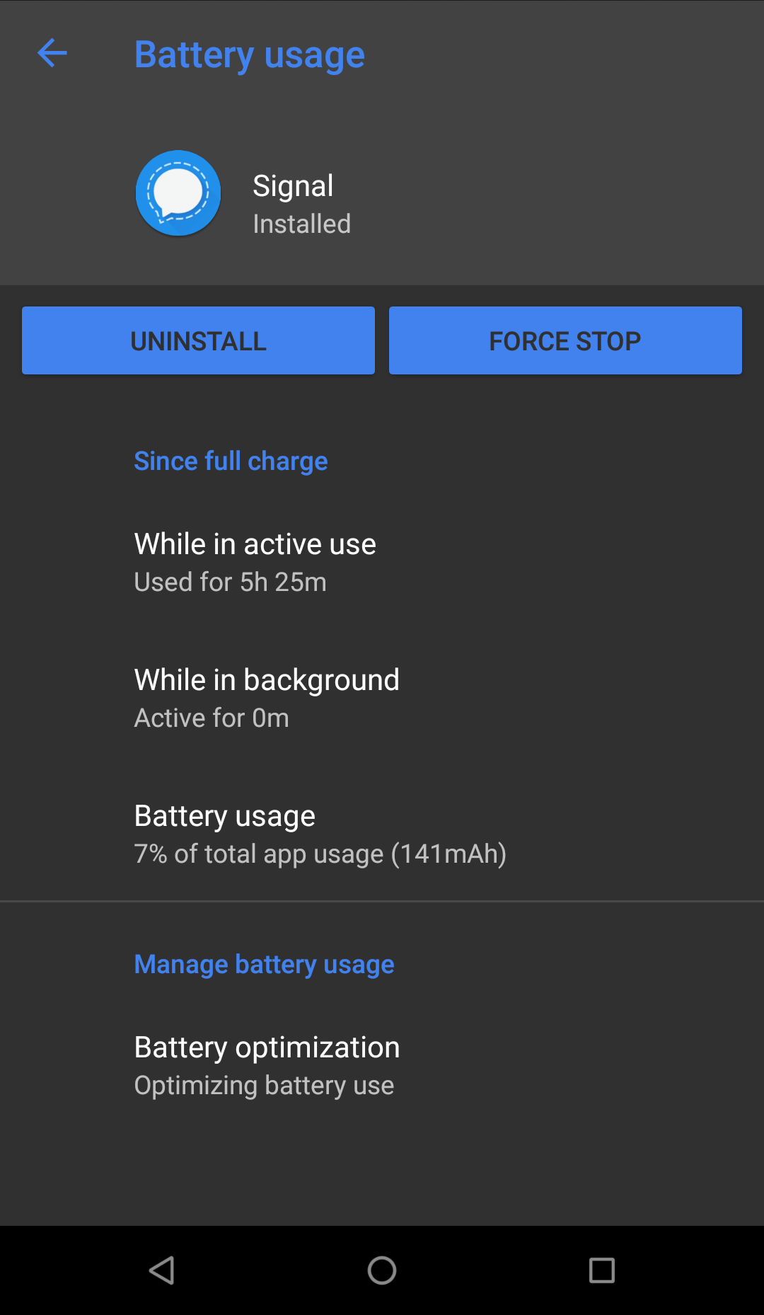 4 25 10 - Heavy battery drain even with minimal usage · Issue #8217