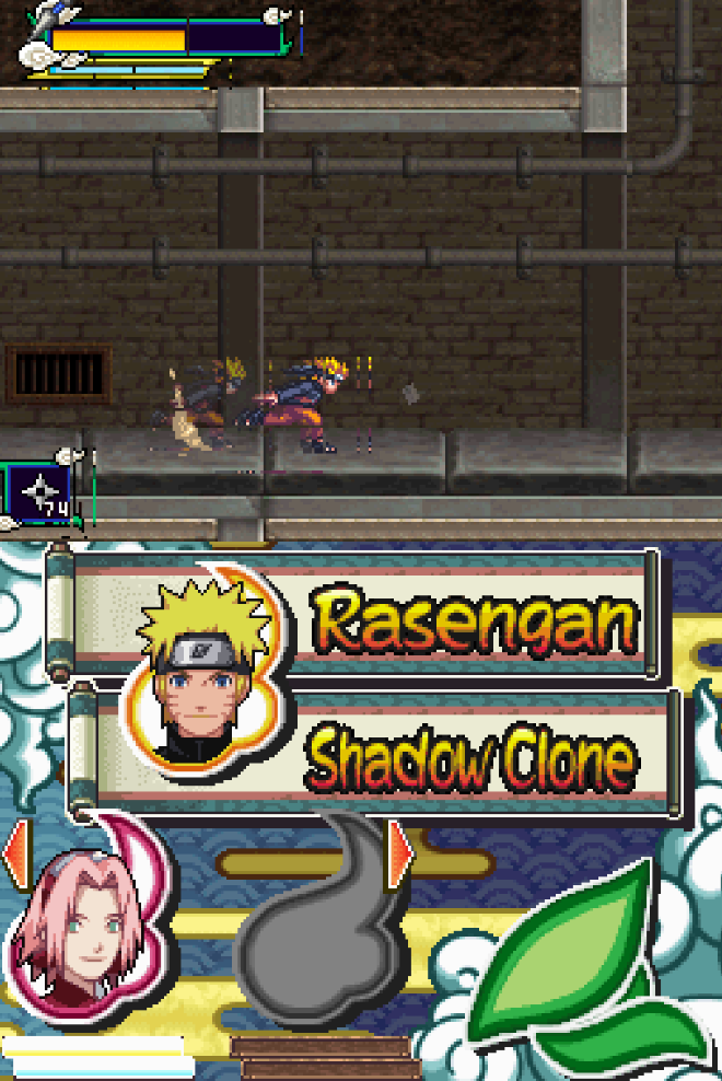 Profile Selection Screen And Character Sprites Are Broken In Naruto Shippuden Naruto Vs Sasuke Usa With Opengl Issue 878 Arisotura Melonds Github