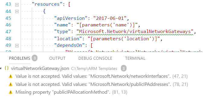 Some resources in Microsoft Network are not referenced from