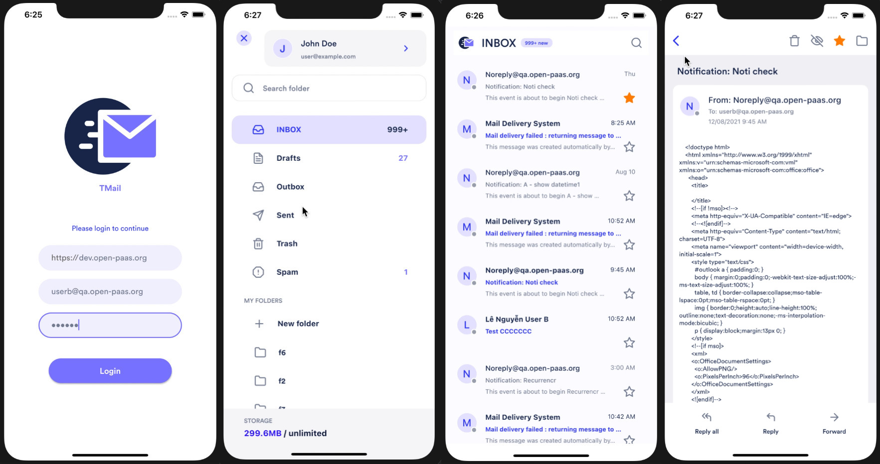 Screenshots Mobile