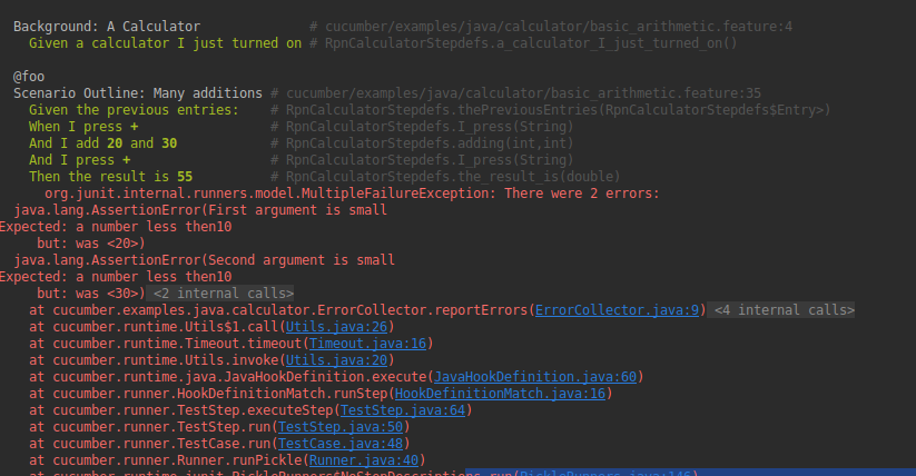 Being Able to Continue Next Steps on @Then Failures · Issue