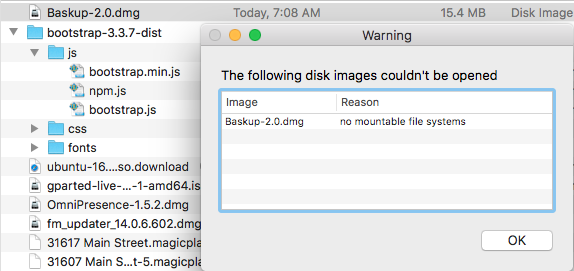 Current DMG file for app 2 0 will not mount · Issue #18