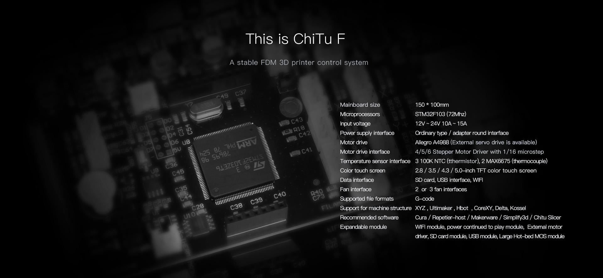 FR] ChiTu V3 9 32-bit ARM STM32 Controller · Issue #7264