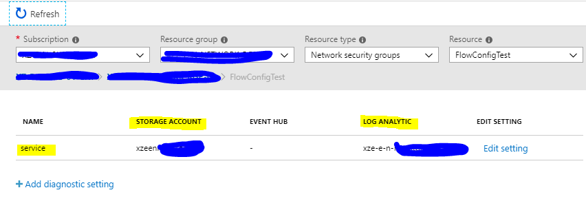 Set-AzureRmDiagnosticSetting in Module 5 1 0 does not work