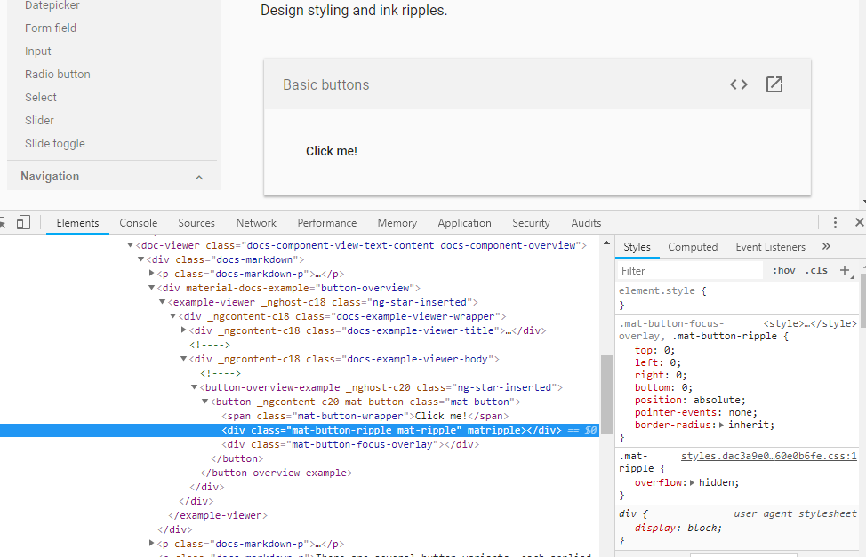 Calling isDisplayed() on an empty span with certain styling