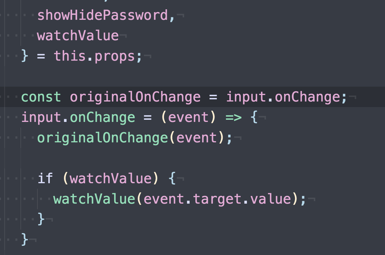 proper way to add onChange event while keeping redux-forms/actions