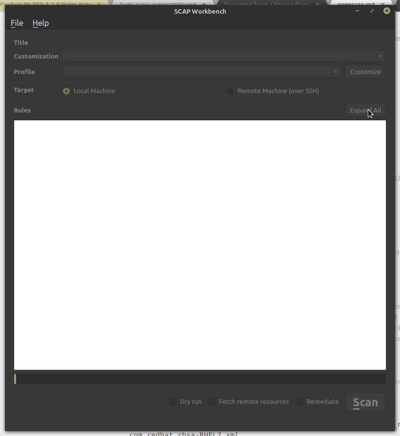 OpenSCAP - Bountysource