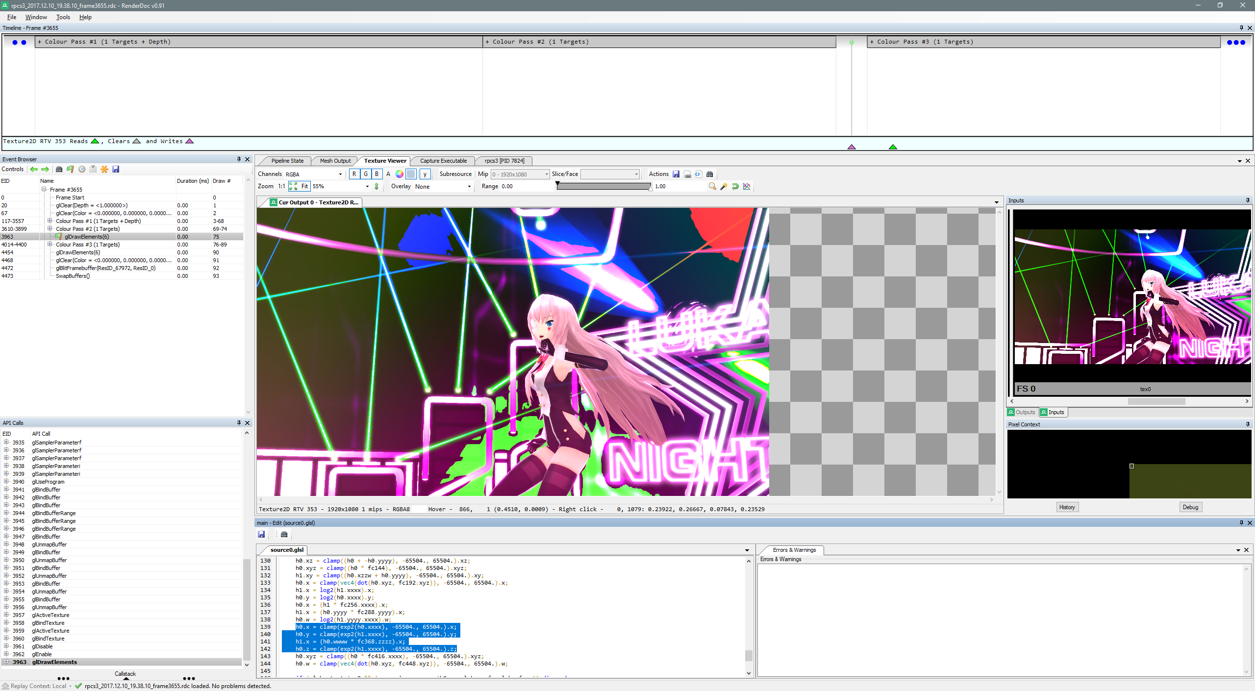 Almost Every Graphic's Problems On Project Diva F 2nd [BLUS31431] -