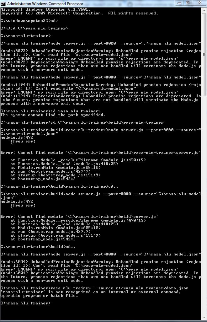 how to set up on windows? · Issue #82 · paschmann/rasa-ui