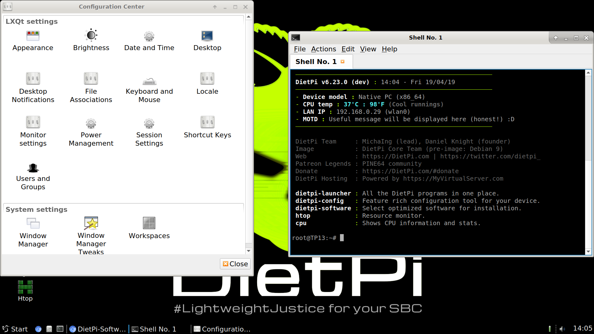 Dietpi Software Lightweight Justice For Your Sbc