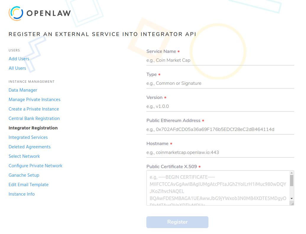 instance-registration