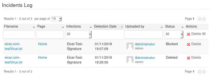 antivirus-administration-incidentslog