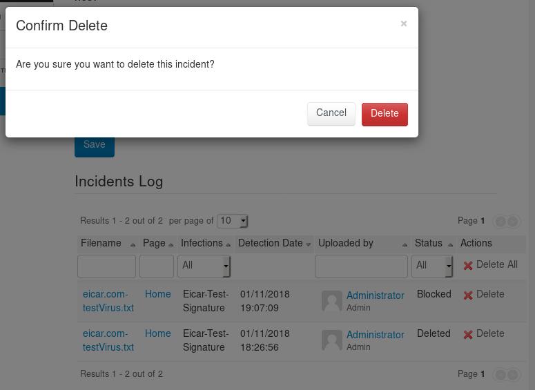 antivirus-administration-incidentslog-delete