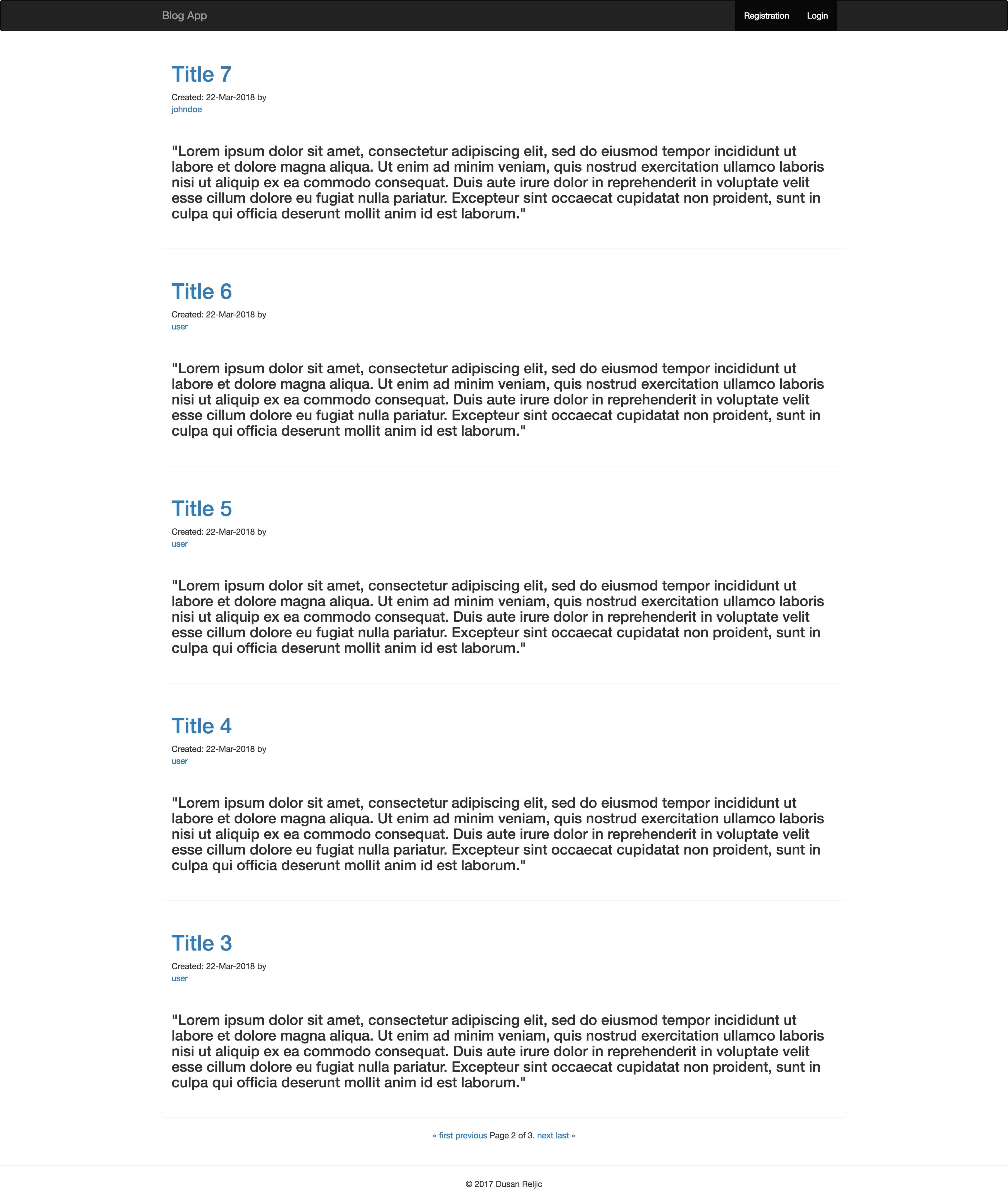 GitHub - reljicd/spring-boot-blog: Simple blog web app made