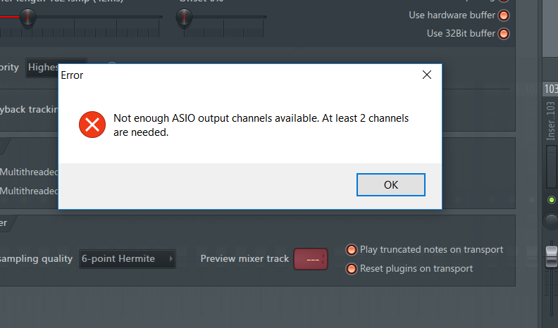 Can't use Synchronous Audio Router as an ASIO Device with