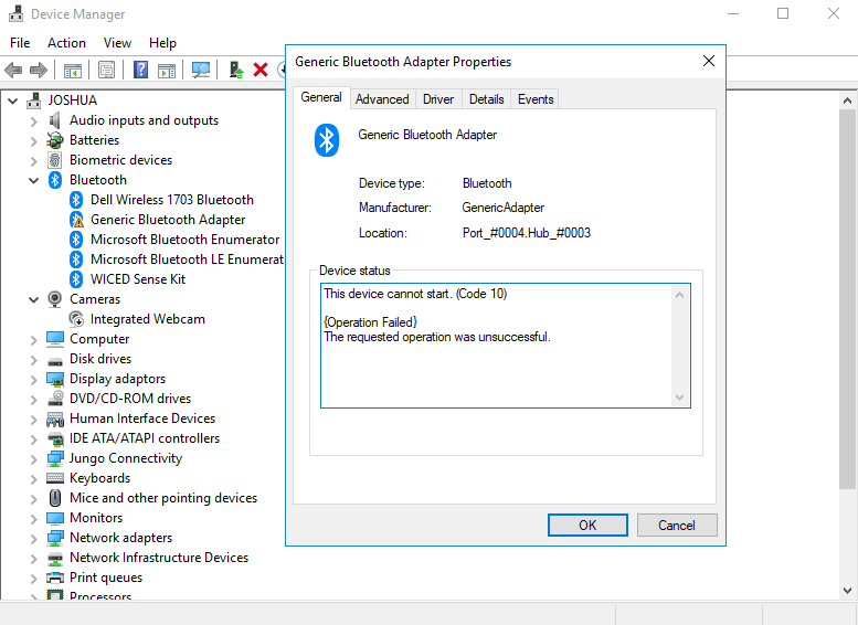 Nordic PCA10059 support without additional Segger debugger -