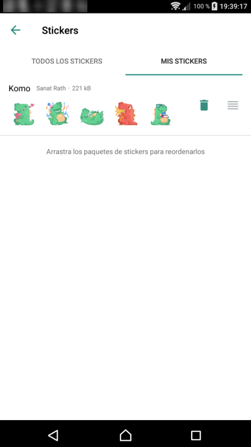 Android] Sticker panel bugged  Panel completely blank