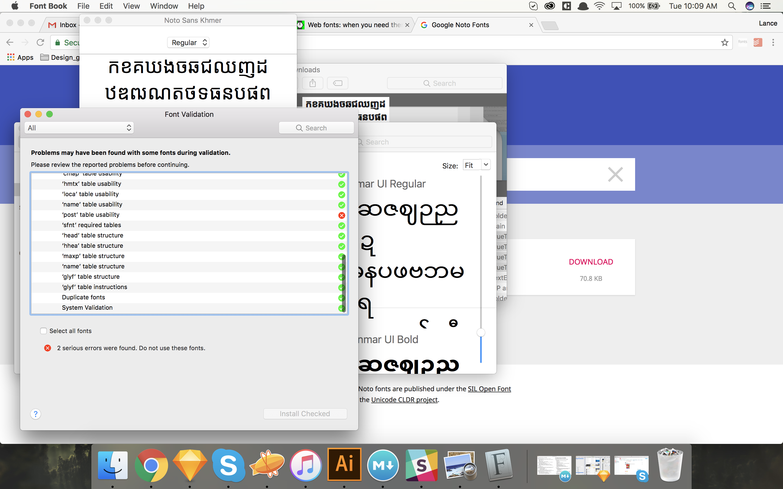 Noto Sans Khmer: