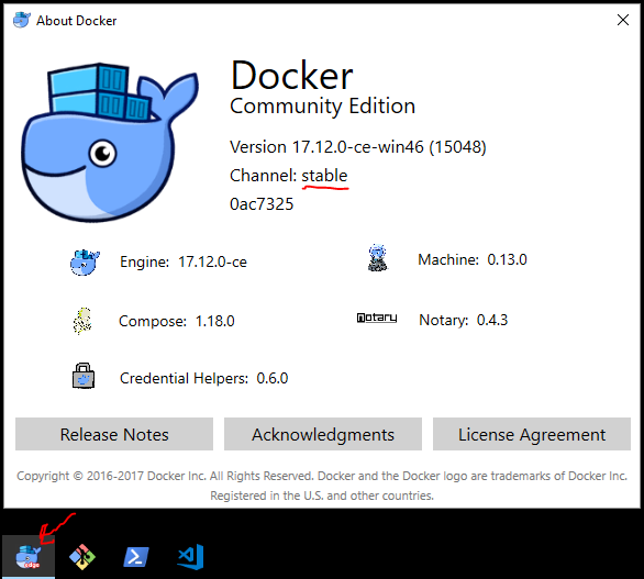 Docker Edge Icon On Stable Channel After Upgrade Issue 1508