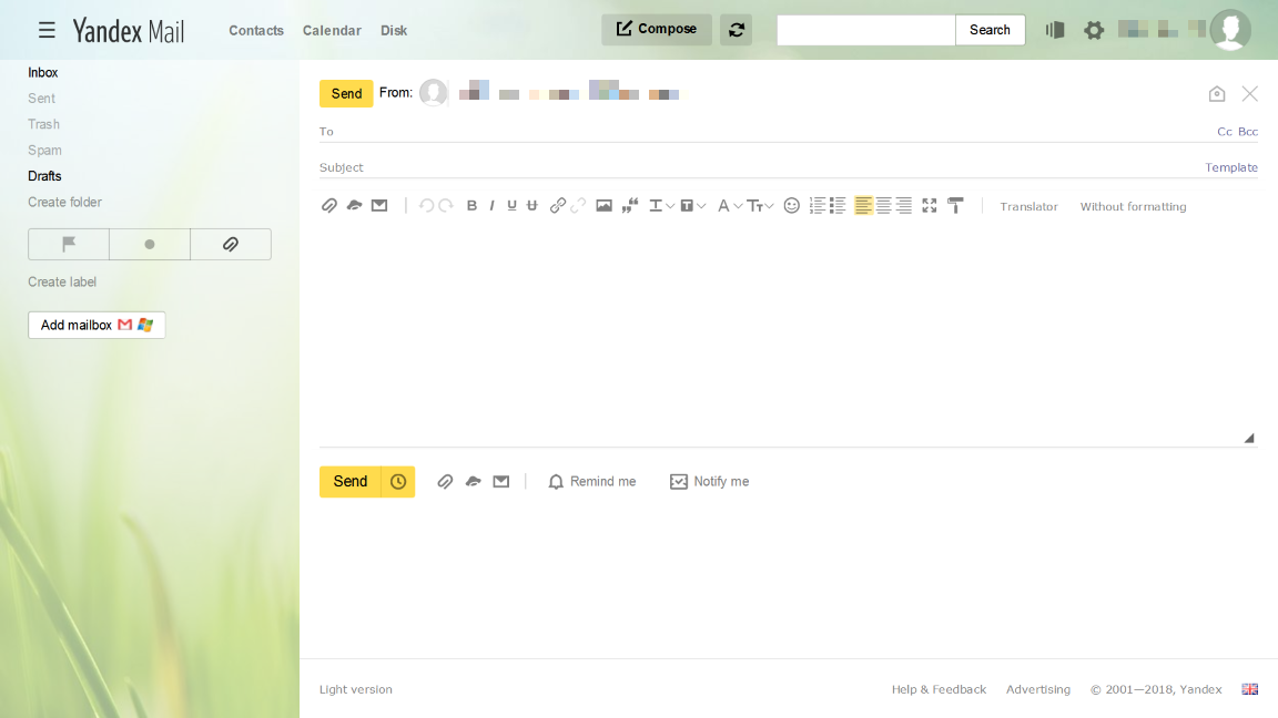 Not showing up on Yandex mail · Issue #564 · mailvelope