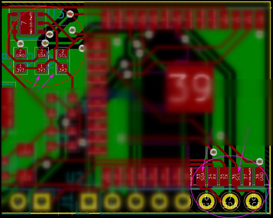I2C] TI HDC2080 temp/humidity sensor not working over ESP32 I2C