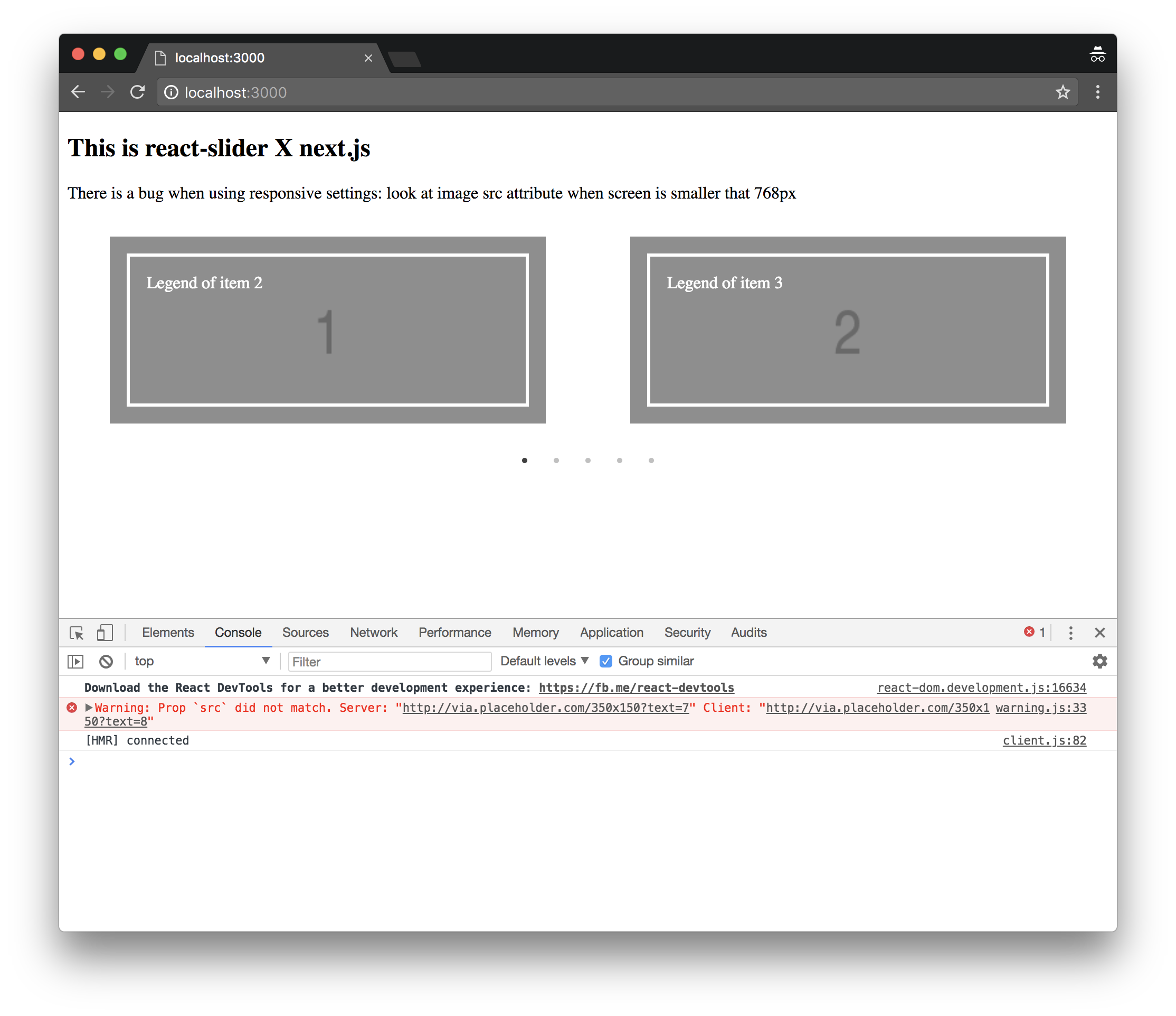 SSR and responsive mode · Issue #1245 · akiran/react-slick · GitHub