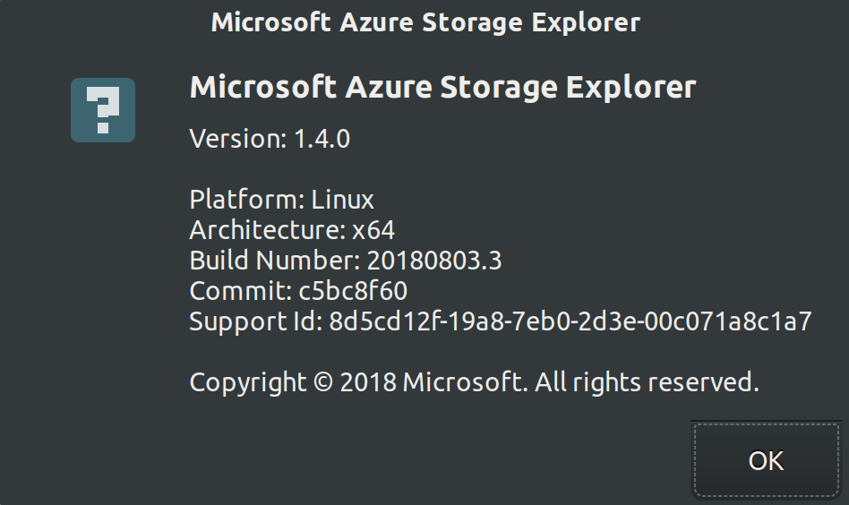 Cannot login in 1 X versions of storage explorer · Issue #583