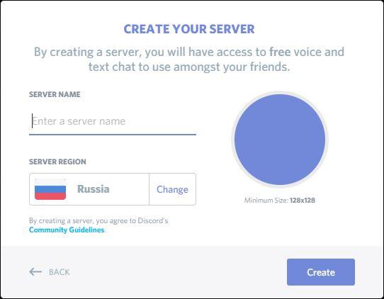 Setup discord server