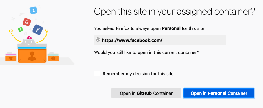 Multiple Facebook Acounts · Issue #199 · mozilla/contain