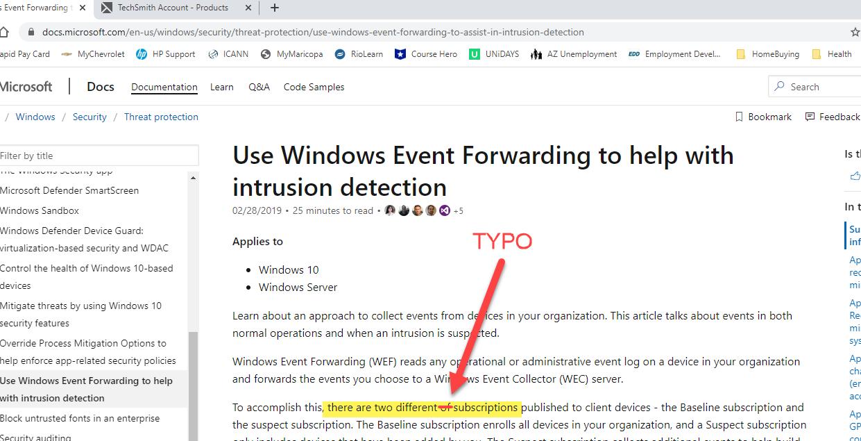 MicrosoftDocs_TYPO
