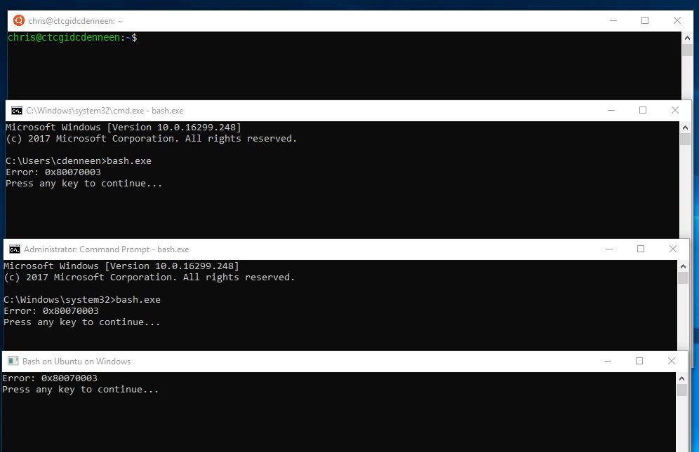 Error Running Ubuntu · Issue #2938 · microsoft/WSL · GitHub