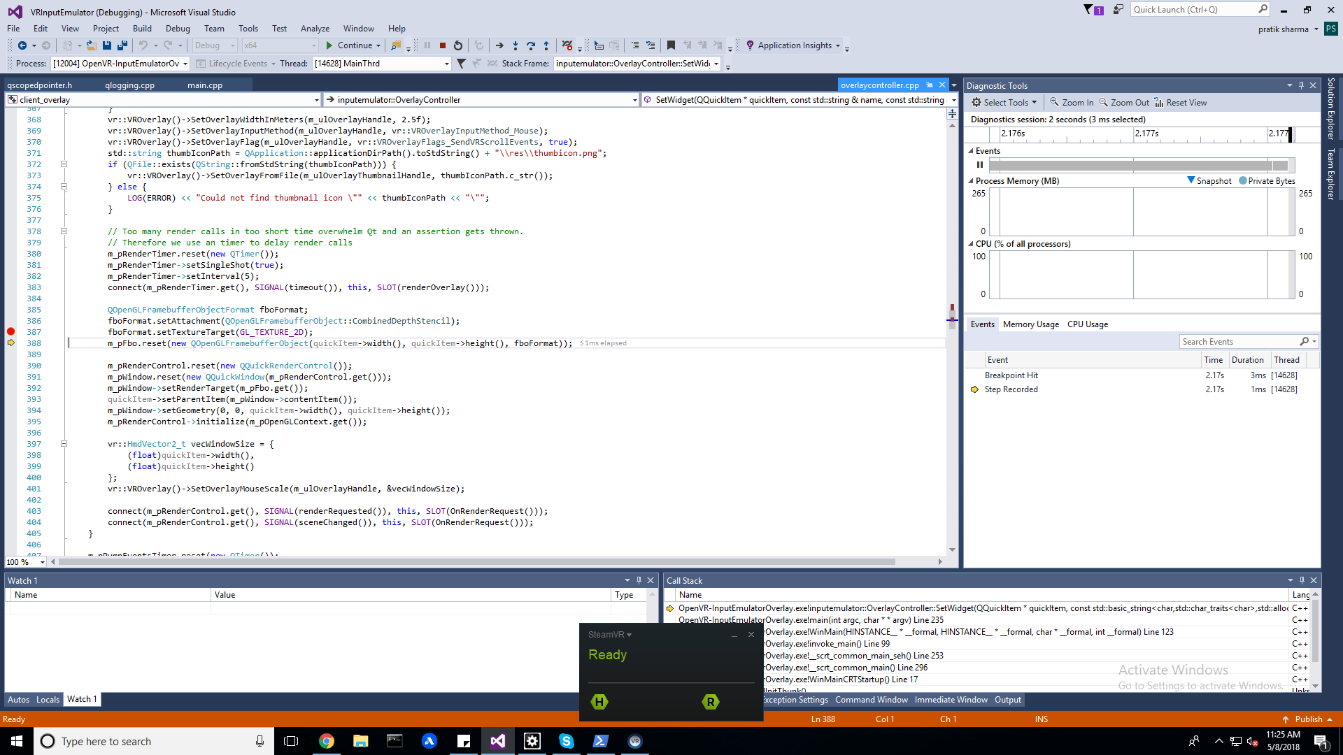 Regarding UI of the input emulator · Issue #107 · matzman666