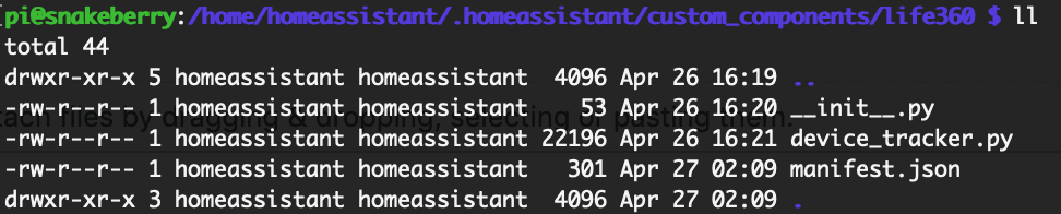 Life360 addon no longer works with homeassistant 0 92 · Issue #143