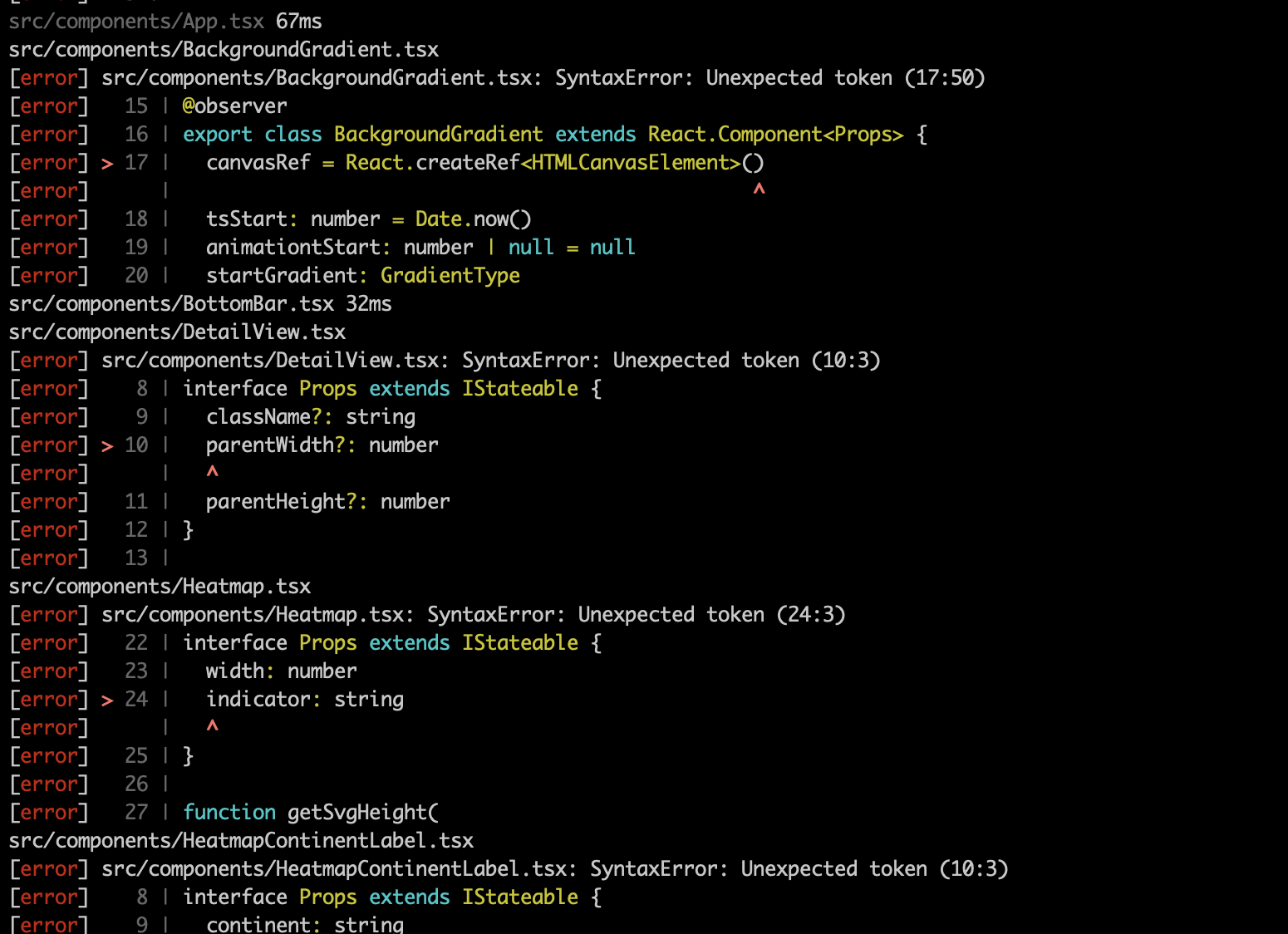 Doesn't work with typescript projects · Issue #10