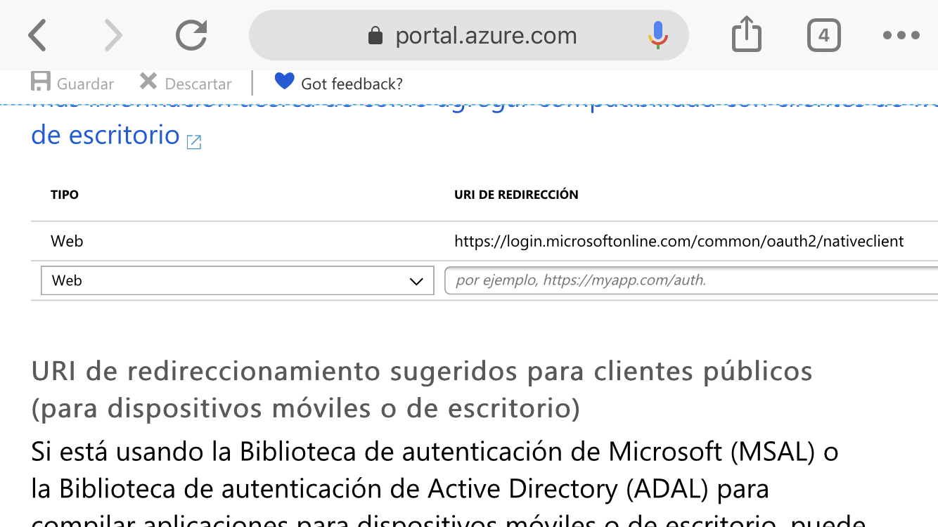 Redirect URL https://outlook office365 com/owa/ is valid? · Issue