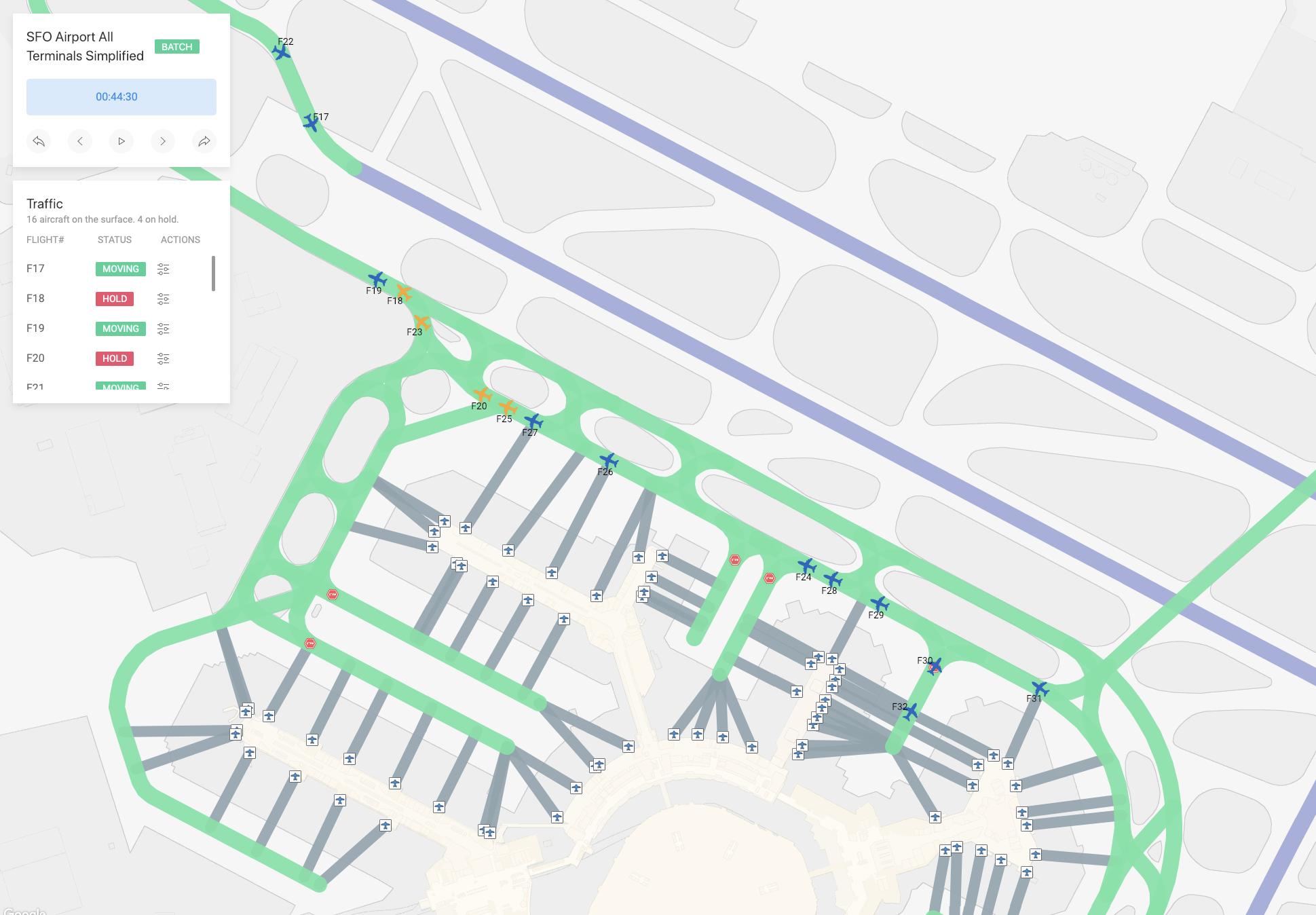 GitHub - heronyang/airport-simulation: Airport Surface