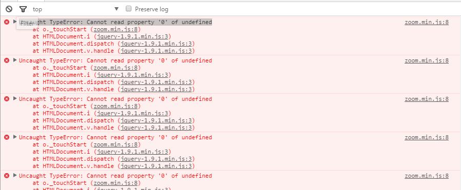 Uncaught TypeError: Cannot read property \u00270\u0027 of undefined · Issue