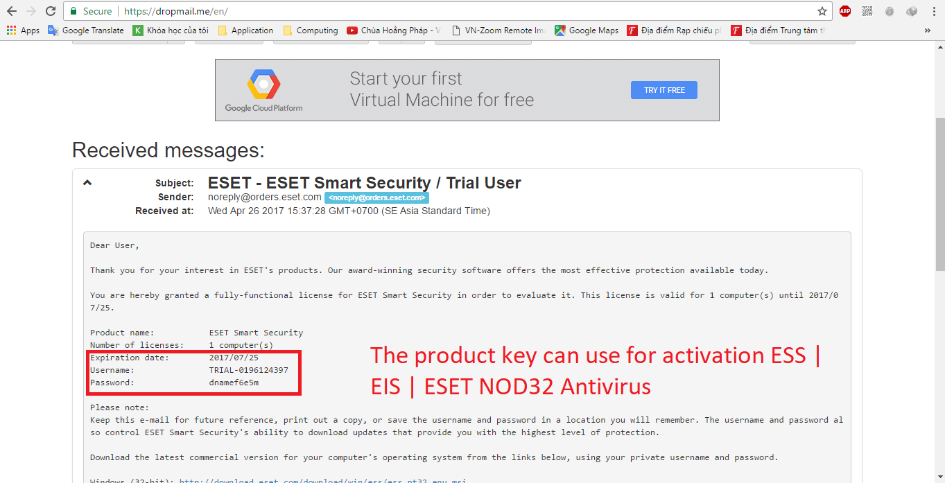 Eset Nod32 create your own valid serial guide · GitHub