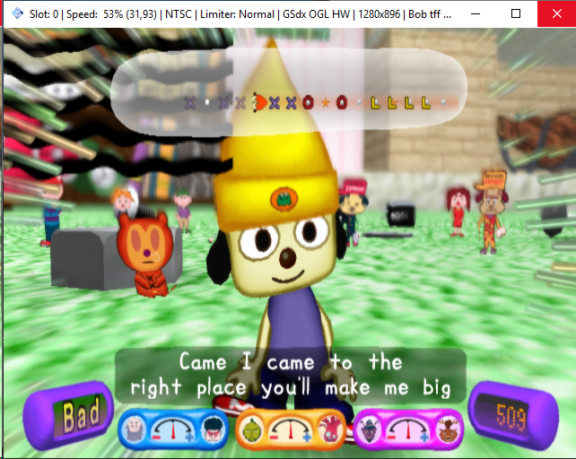 Parappa the Rapper 2 depth issues · Issue #1610 · PCSX2/pcsx2 · GitHub