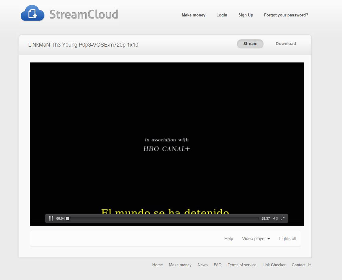 Adblock Streamcloud