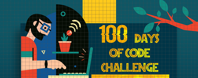 The 100 Days Of Code challenge encouraging beginners to start to learn code, encourage them to post a tweet about what they did and use the hashtag of