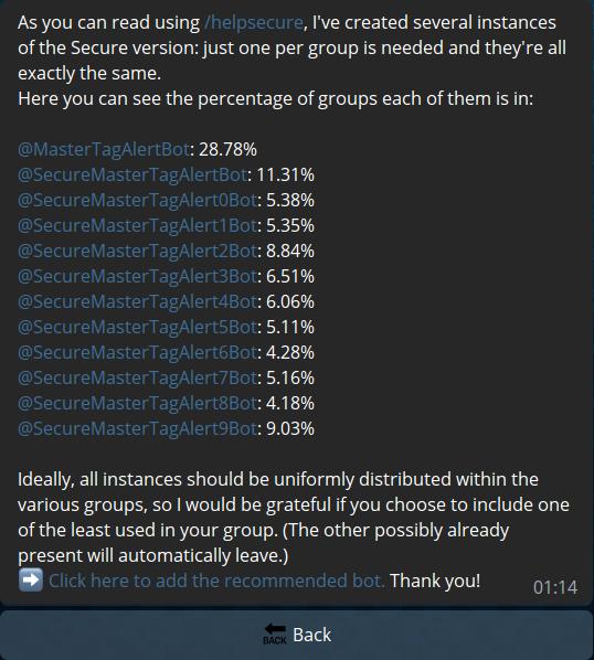 LoadBalancingUpdater - Possibility to have multiple Bots